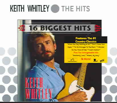 16 BIGGEST HITS BY WHITLEY,KEITH (CD)